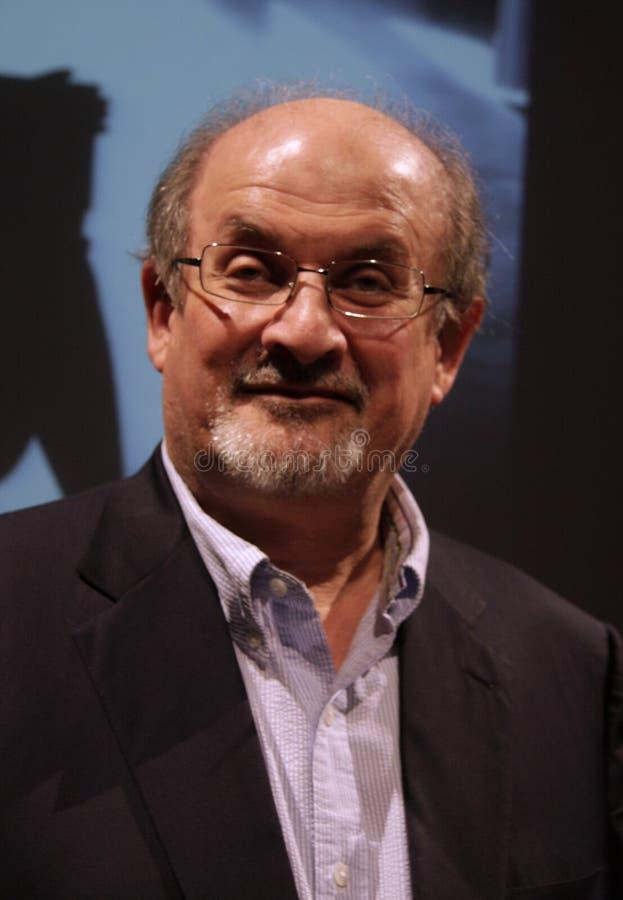Salman Rushdie fotos de archivo