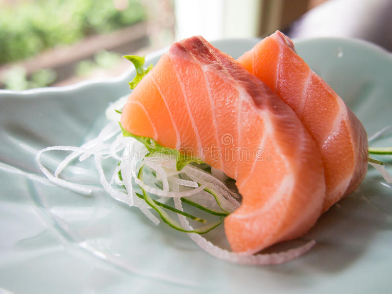 Salmon сасими стоковое фото rf