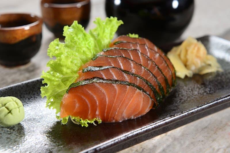 Download Salmon сасими стоковое фото. изображение насчитывающей съешьте - 41652550