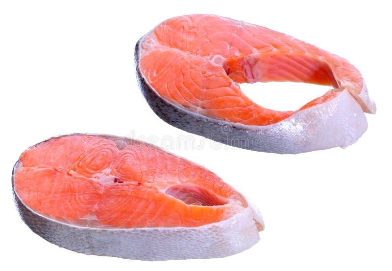 Download Salmon стейк 2 стоковое фото. изображение насчитывающей альтернативно - 40581258