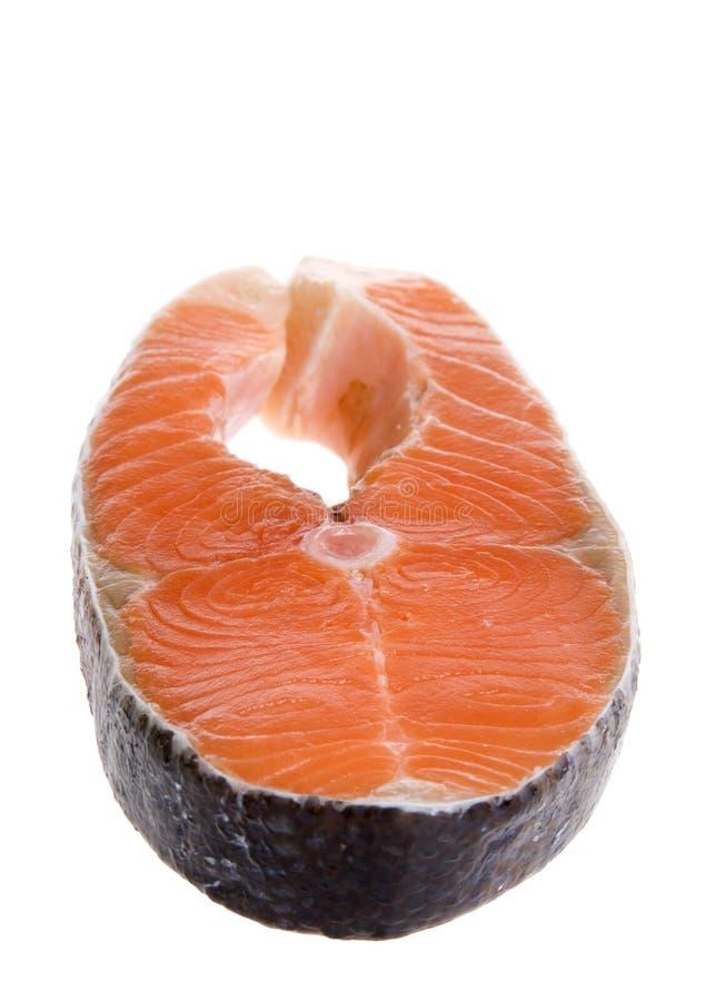 salmon форель ломтика стоковые изображения
