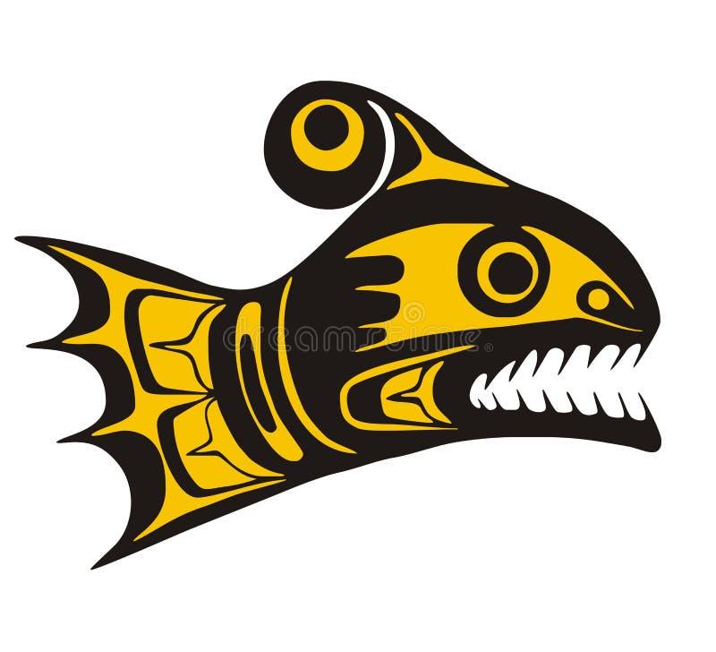 Salmon stock illustration