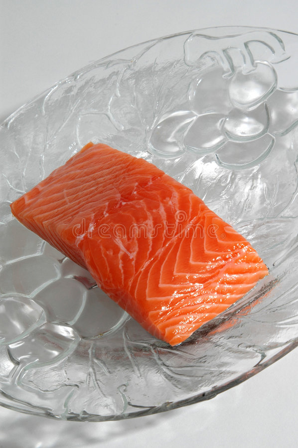 Download Salmon stock image. Image of plate, fillet, atlantic, background - 154549