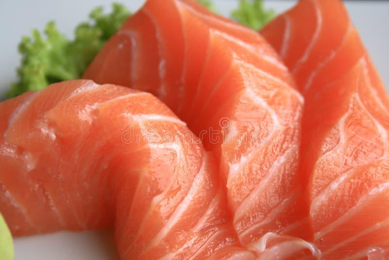 Salmon. 3 pieces of salmon fish