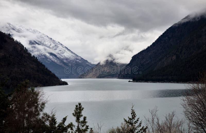 Salmon Arm British Columbia fotografering för bildbyråer
