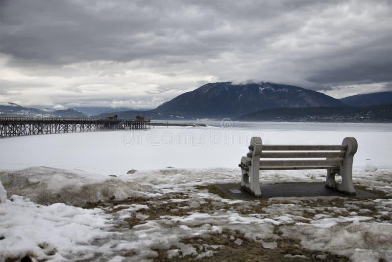 Salmon Arm British Columbia fotos de archivo