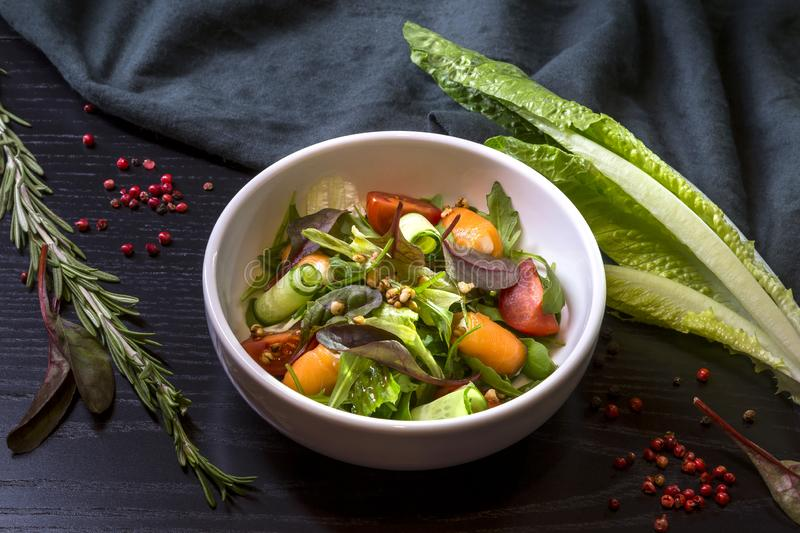 Image with a salad royalty free stock photo