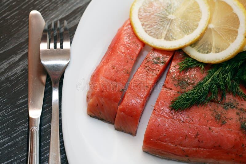 Salmon Fillet stockbilder