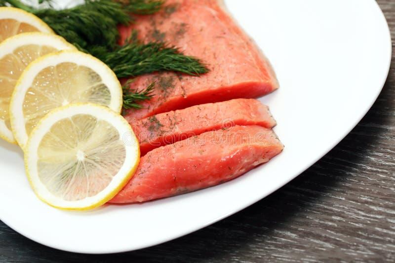 Salmon Fillet lizenzfreie stockbilder