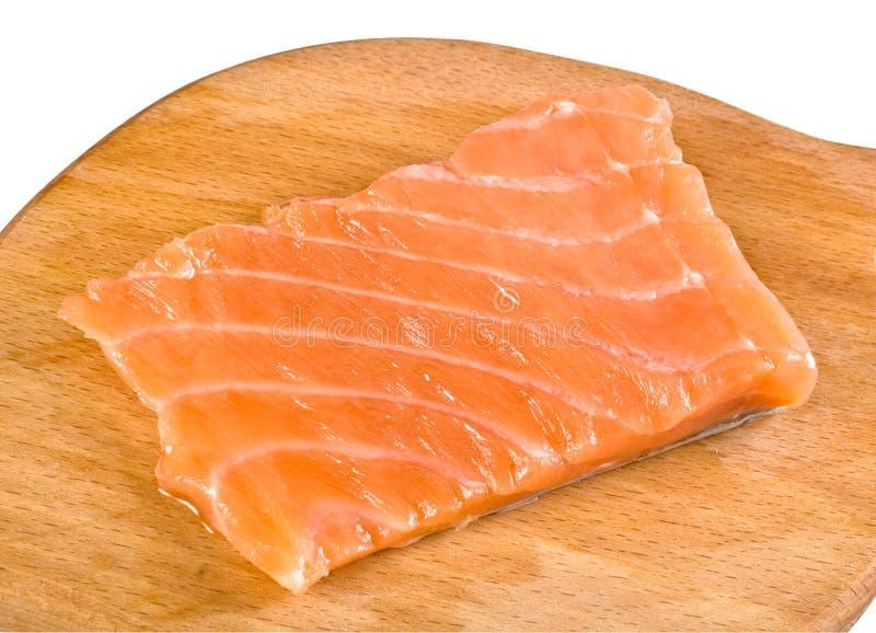 Salmon fillet stock image