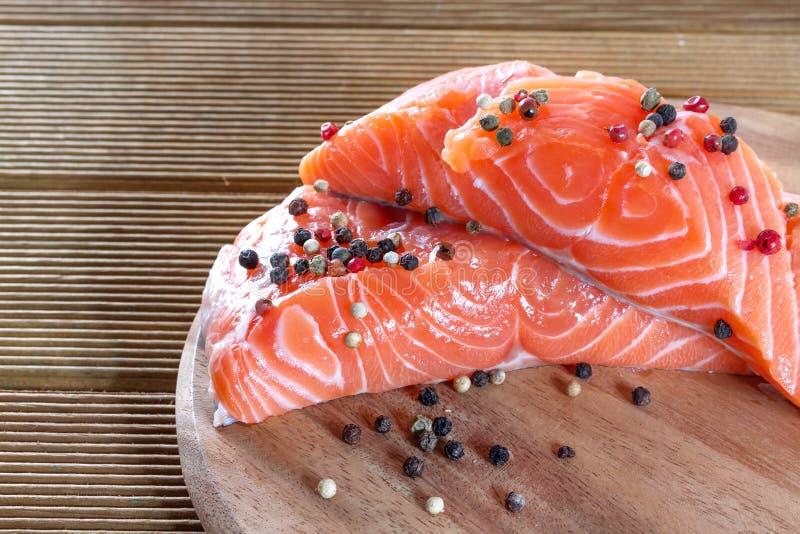 Salmon Fillet arkivbilder