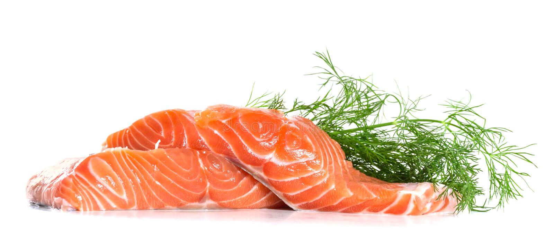 Salmon Fillet imagem de stock royalty free