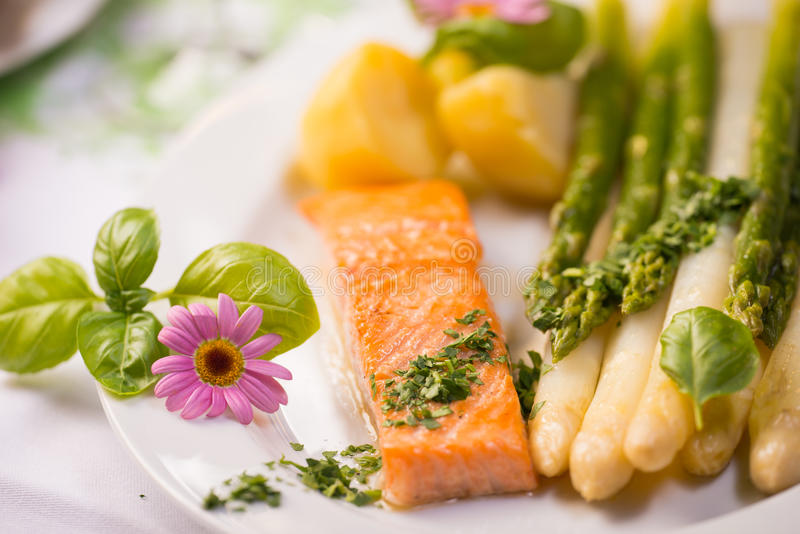 Salmon Fillet stockfoto