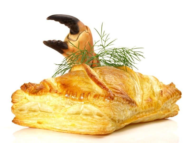 Salmon Fish Fillet en pâte feuilletée photos stock