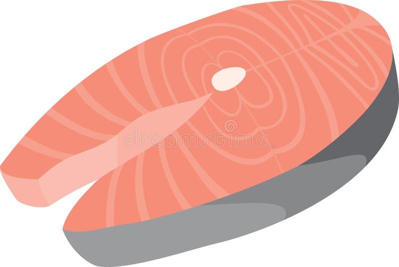 Salmon icon royalty free illustration