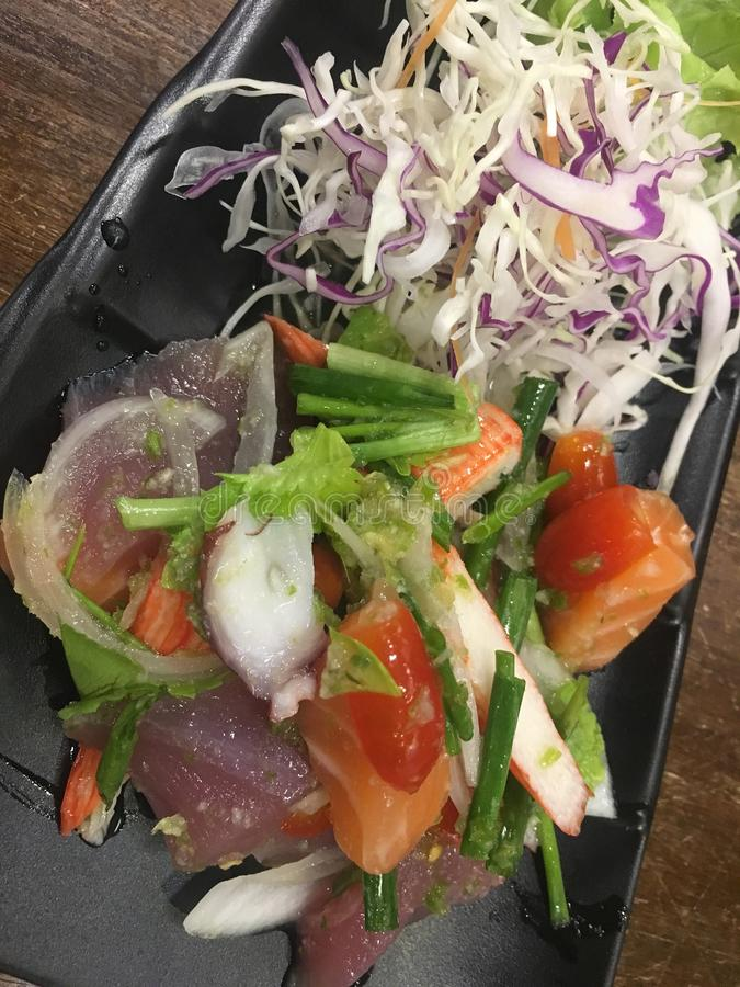 Salmon japan food royalty free stock photos
