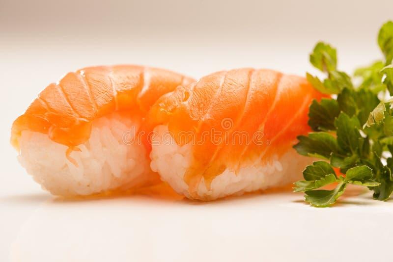 Salmon Nigiri Sushi fotos de stock