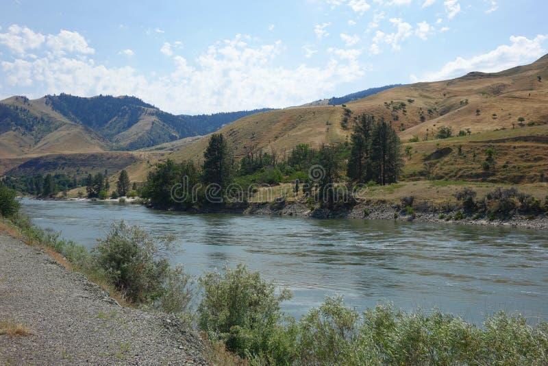Salmon River cerca de Riggins, Idaho fotografía de archivo
