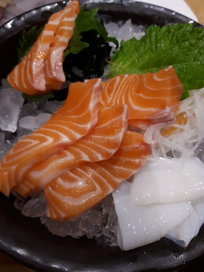 Salmon Sashimi stock fotografie