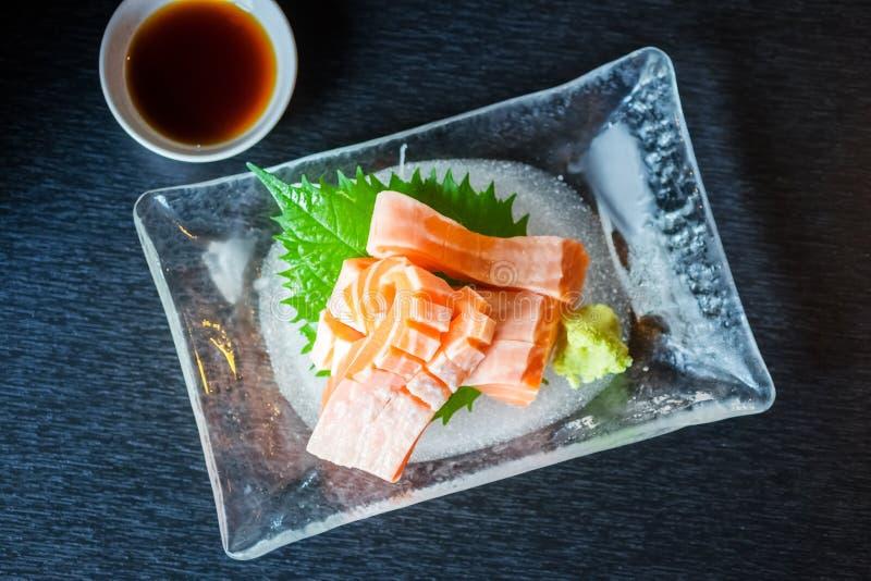 Salmon Sashimi royaltyfri foto
