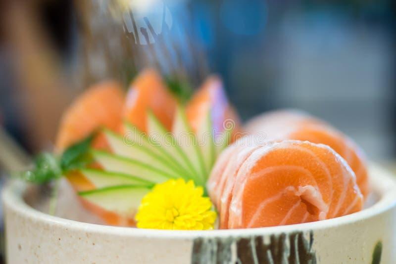 Salmon Sashimi immagine stock libera da diritti