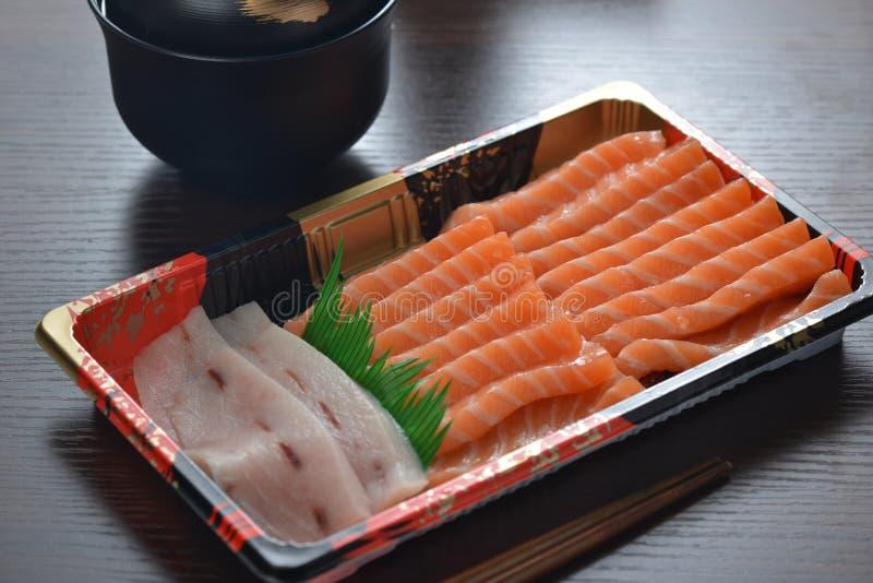 Salmon Sashimi foto de stock