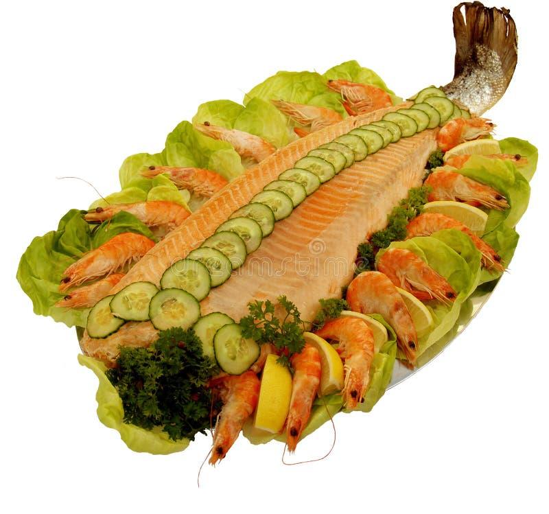 salmon scottish стоковое изображение