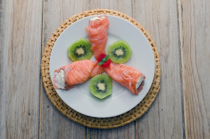 Download Salmon stock image. Image of prepared, salmon, image - 33182135