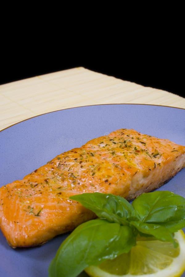 Salmon steak 2 royalty free stock photo