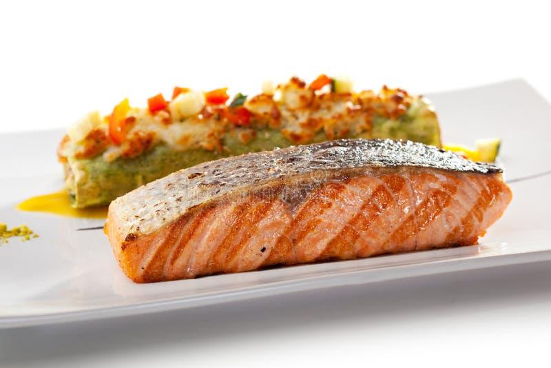 Salmon Steak photo stock