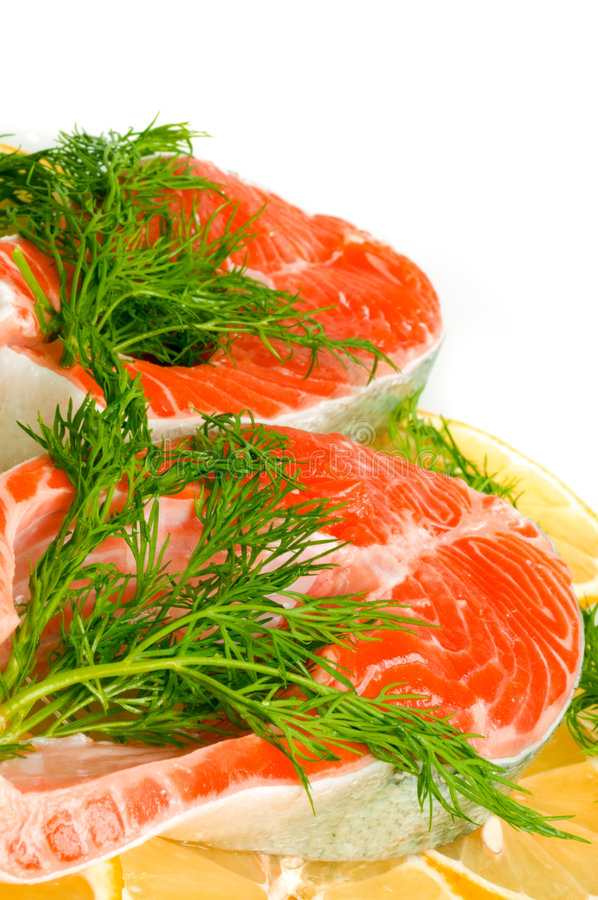 Download Salmon Steak Stock Photos - Image: 7133283