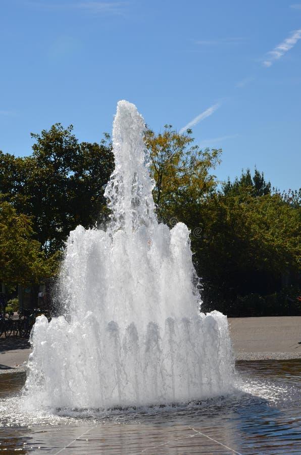 Download Salmon Street Fountain, Portland, Oregon 3 Stock Photo - Image of waterfront, oregon: 110644448