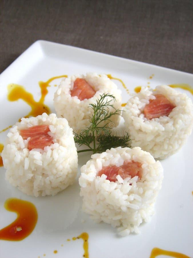 Free Salmon Sushi Royalty Free Stock Photography - 1644737