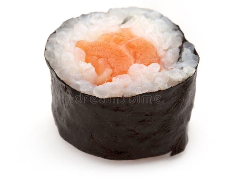Salmon Sushi Roll fotografia stock libera da diritti
