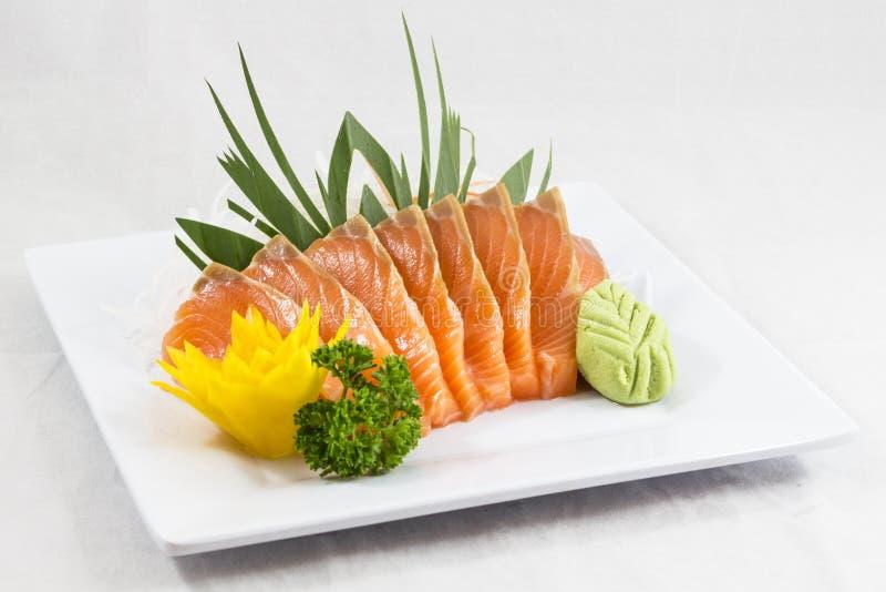 Salmones del sushi imagen de archivo