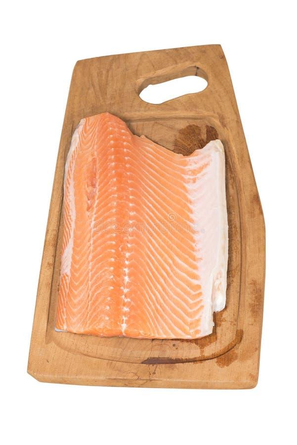 Salmones rosados fotos de archivo