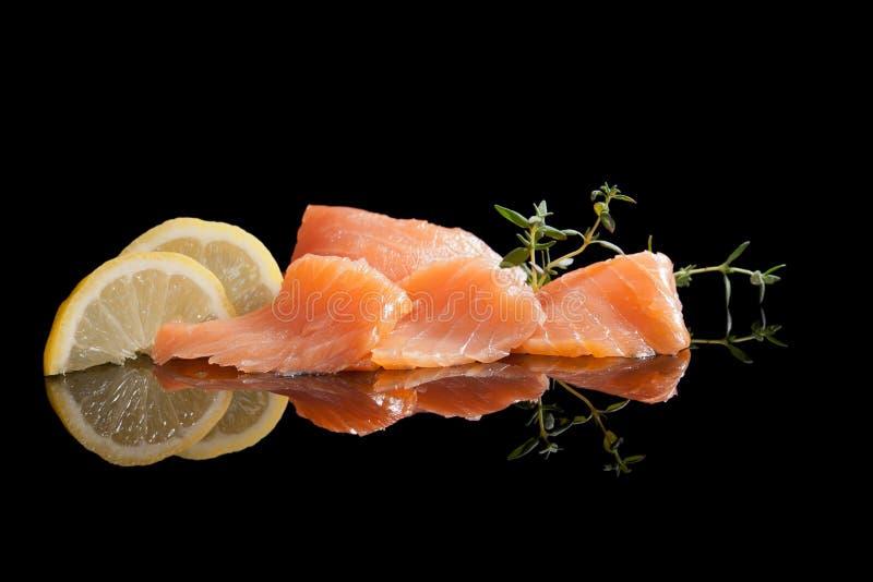 Salmoni. immagini stock libere da diritti