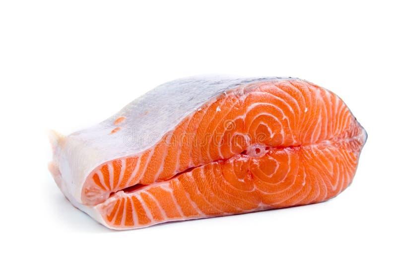 Salmoni grezzi fotografie stock libere da diritti