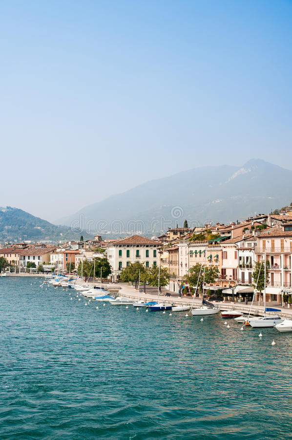 Download Salo (Lake Garda, Italy) Royalty Free Stock Images - Image: 24489779