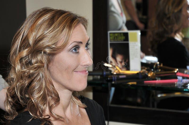 Download At the Salon stock photo. Image of salon, joyous, hair - 17280572