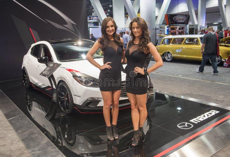 Salon automobile 2013 de SEMA image stock