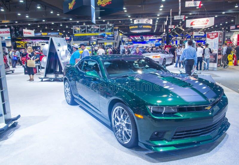 Salon automobile 2014 de SEMA photos stock