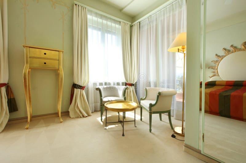 Salon classique confortable photo libre de droits