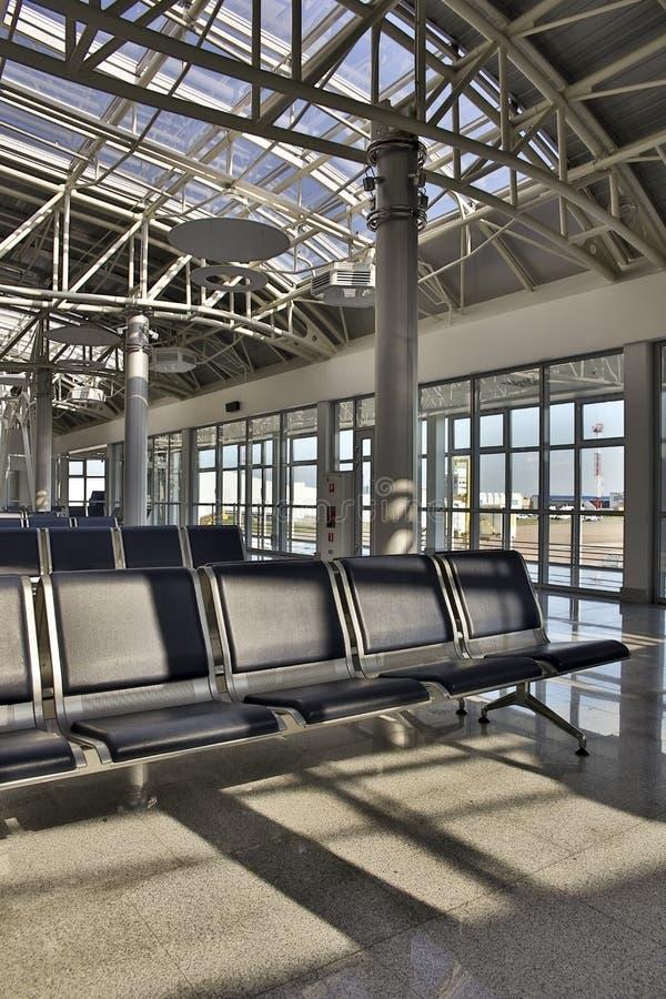 Salon d'aéroport photographie stock libre de droits