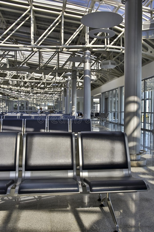 Salon d'aéroport image libre de droits