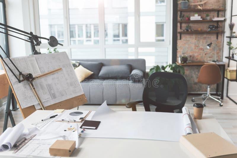 Salon d'architecte habile photographie stock libre de droits