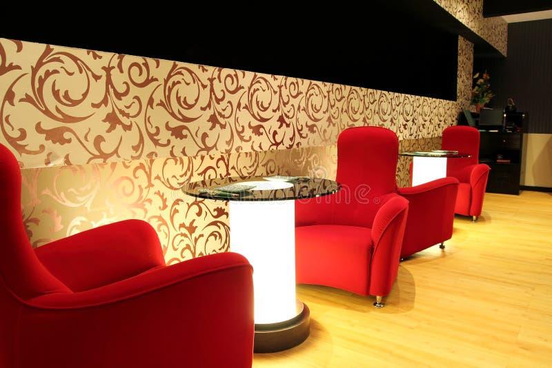 Salon d'hôtel de luxe image libre de droits