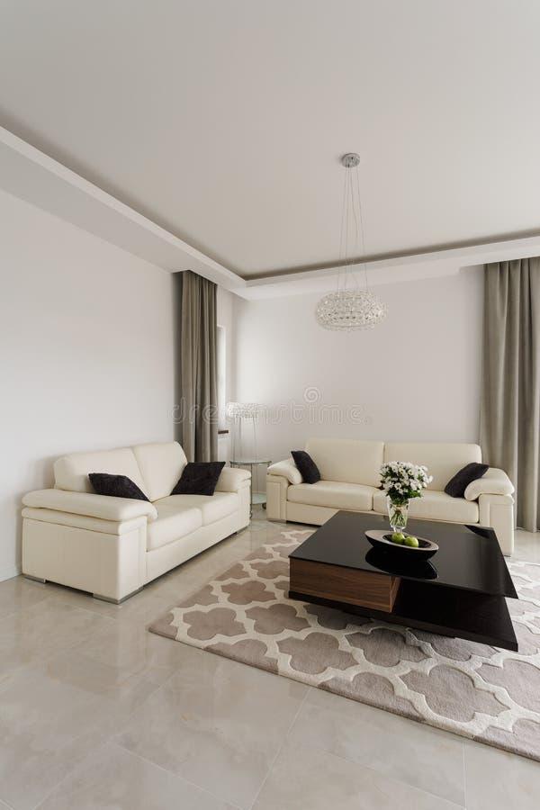 Salon dans le style de luxe photo libre de droits