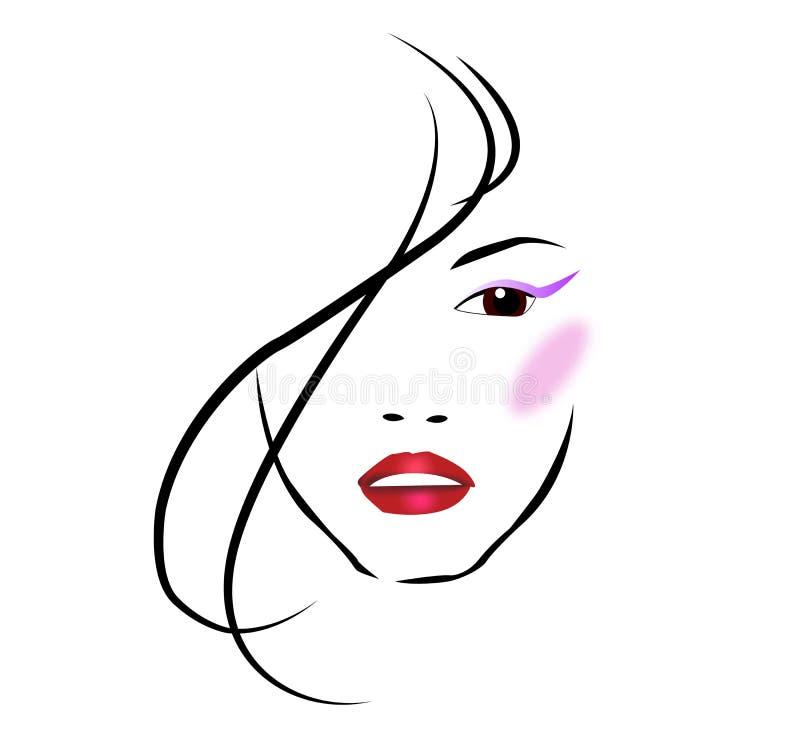 Salon de beauté illustration libre de droits