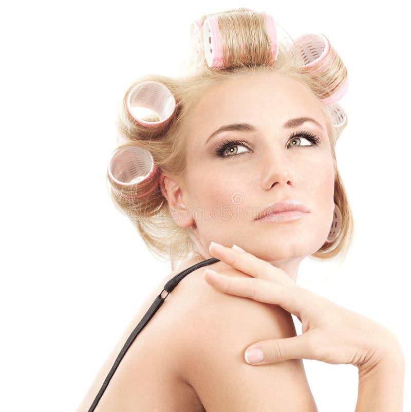 Salon de beauté de luxe images libres de droits